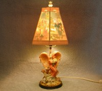 Table Lamp Angel Themed