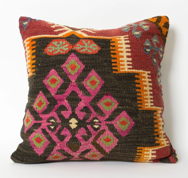Kilim Pillow Covers Bohemian Home Decor Turkish