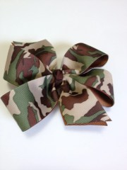 girls camouflage barrette teen