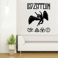 Items similar to LED ZEPPELIN wall art sticker/ decal ...