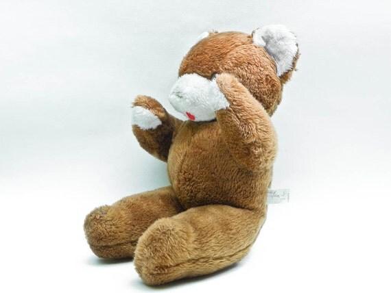 Old Beat Up Teddy Bear Vintage Knickerbocker Animals Of