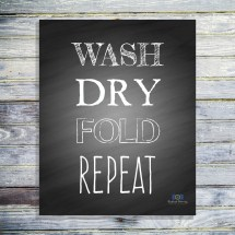 Laundry Room Vintage Signs Free Printables - Year of Clean Water