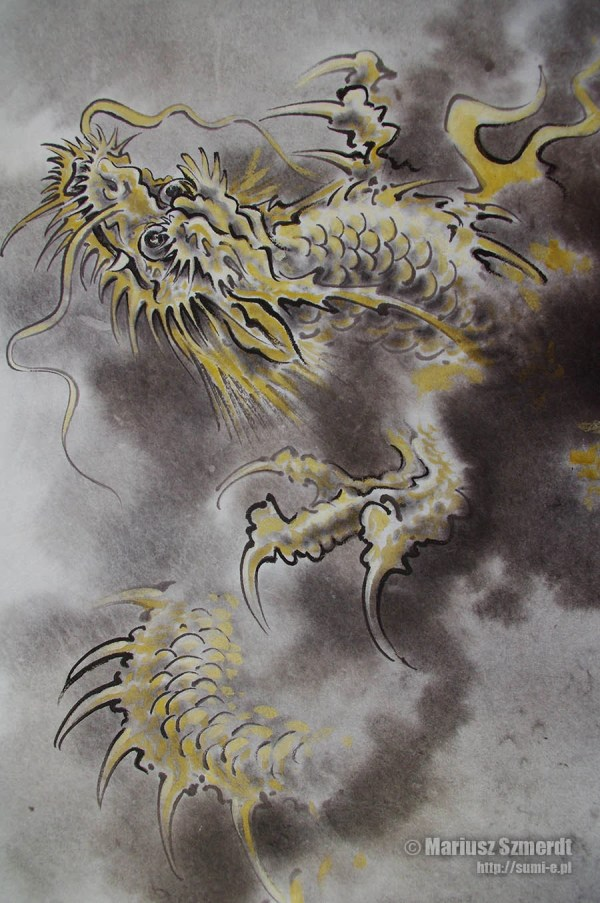 Japanese Dragon Art Paintings