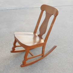 Antique Sewing Chair Morris Chairs Value Vintage Rocking Nursing Armless Mid Century