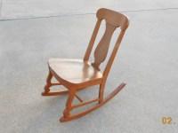Vintage Rocking Chair Sewing Nursing Armless Mid Century