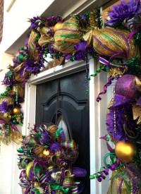 Video How To Make a Deco Mesh Mardi Gras GARLAND Full ...
