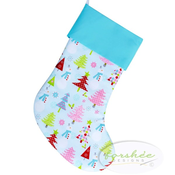 Baby Girl Christmas Stocking Personalized