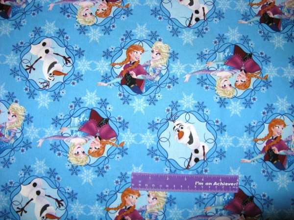Disney Frozen Elsa Anna Olaf Snowman Princess Cotton