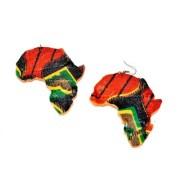 afro hair earrings natural