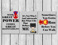 Superhero Boys Room Wall Art/Superhero by TurquoiseFarmHouse