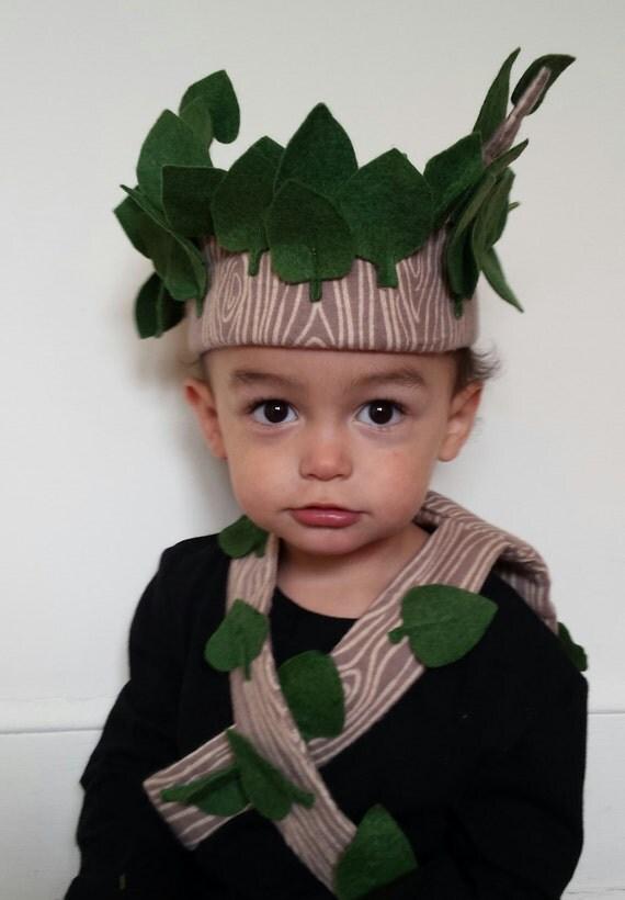 Cute Handmade Tree Costume Toddler