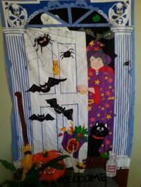 Trick or Treat Halloween Door Decoration Screen by ...