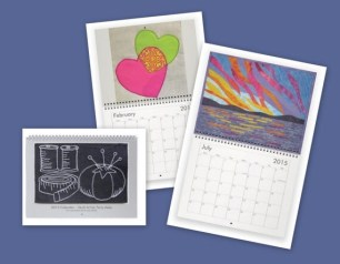 2015 Wall Calendar - Art Quilts by Terry Aske