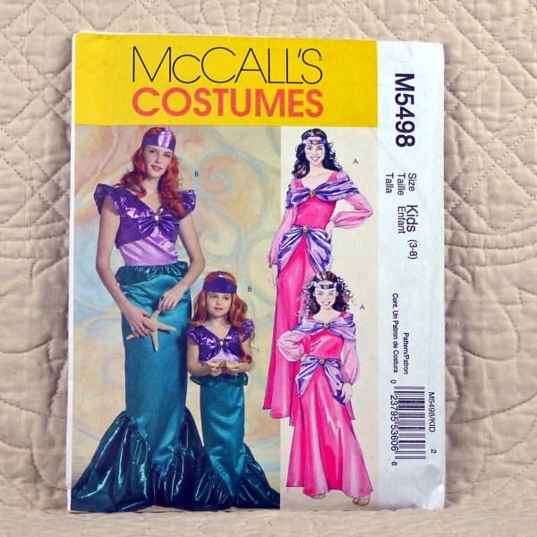 Girls Mermaid And Princess Costume Pattern Mccalls M5498