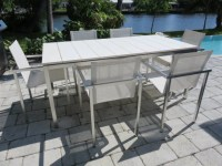 Vintage, Tribu Mid-Century Modern Patio Table And Chairs ...
