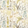 Window curtains botanical inspired drapery panels neutral floral
