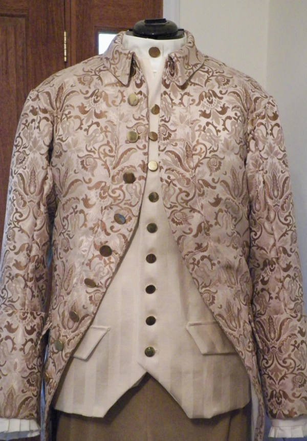Colonial 18th Century Frock Coat - Year of Clean Water