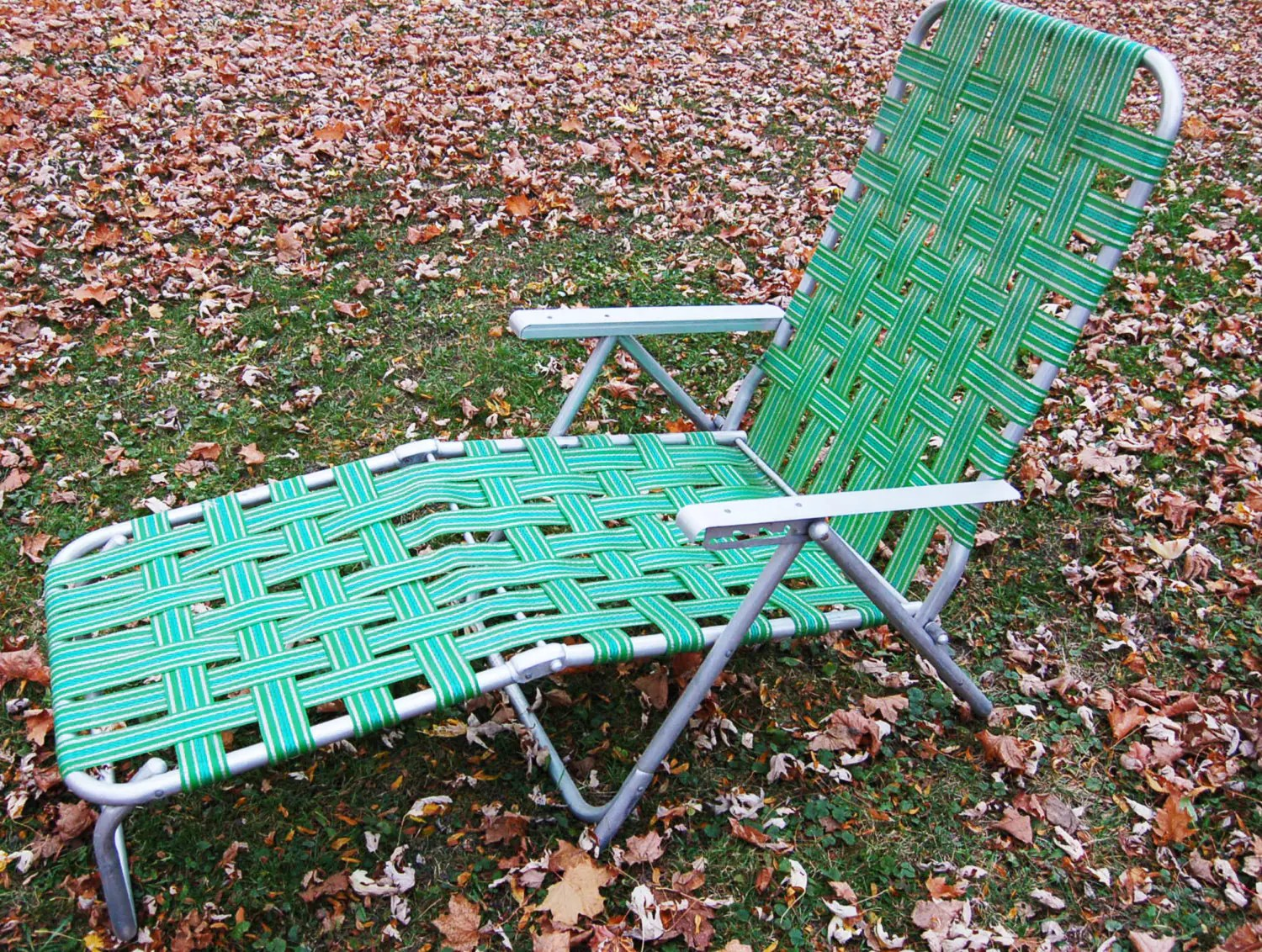 Retro Lawn Chairs Retro Vintage Aluminum Outdoor Lounge Lawn Chair Aluminum