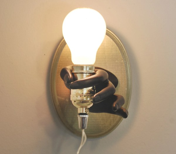 Jewelry Display Hand Light Mannequin Sconce Novelty