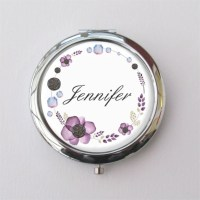 Compact Mirror Purse Mirror Personalized Bridesmaid Gifts