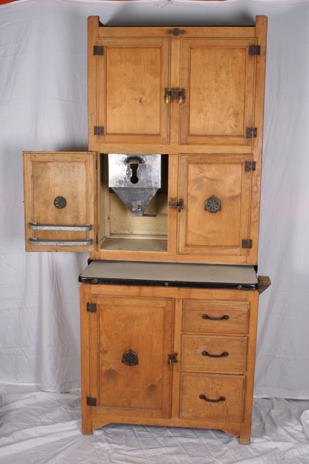 Hoosier Cabinet Small Size by Hygena British Made