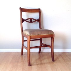 Retro Dining Room Chairs Rocking Chair Woodworking Plans Vintage Tell City Mahogany Furniture