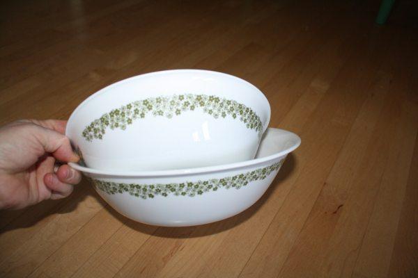 Vintage Serving Bowls Corelle Spring Blossoms