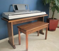 Items similar to Custom Keyboard Stand and Bench. Steady ...