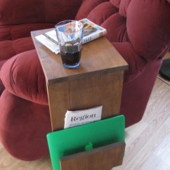 Sofa Arm Tray Wood Tall Table On Sale Chair Rest Tv Stand With Side