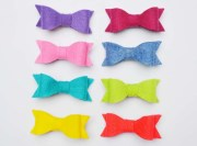 items similar mini felt bows