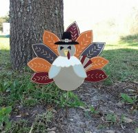 Thanksgiving Turkey Decoration Pilgrim Decoration Outdoor Yard