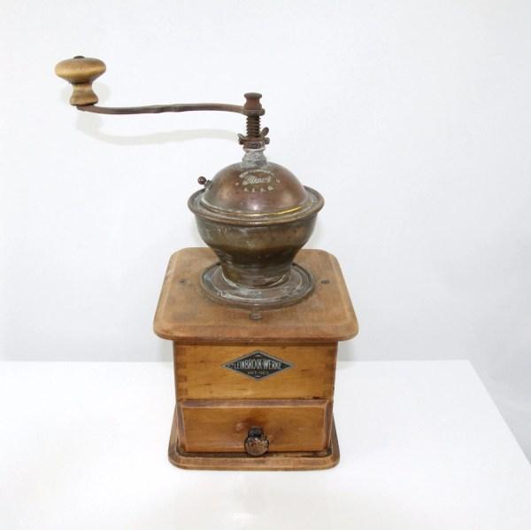 Antique Coffee Grinder Mill Leinbrock' Ideal