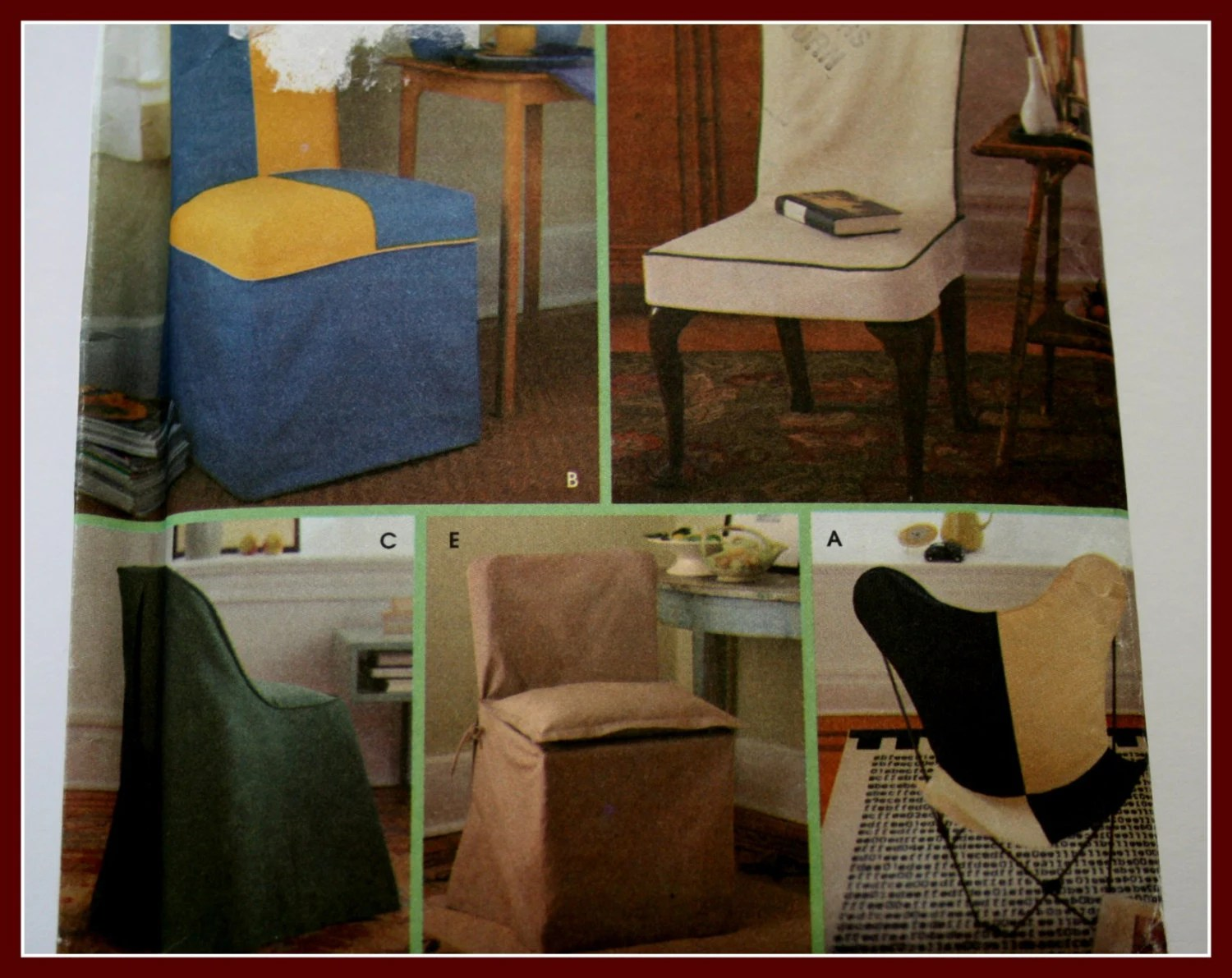 Chair Cover Patterns Chair Covers Sewing Pattern Dining Chair By