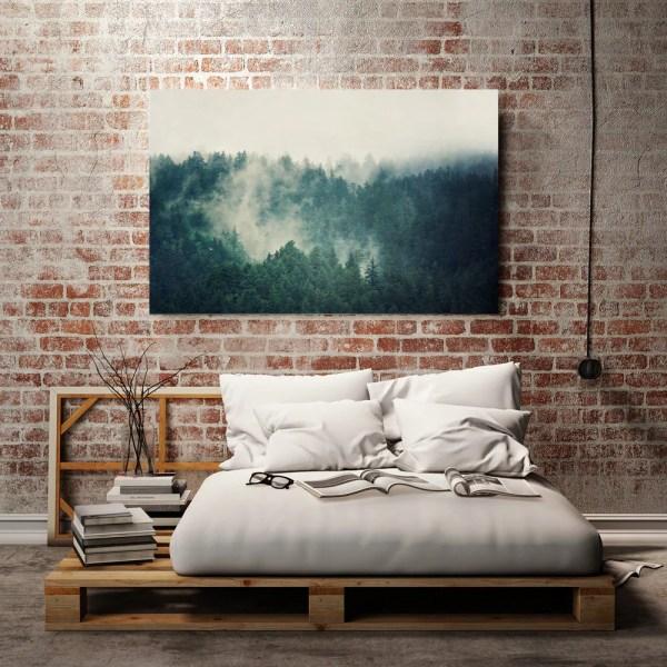 Teal Canvas Art Large Print Wall Landscape