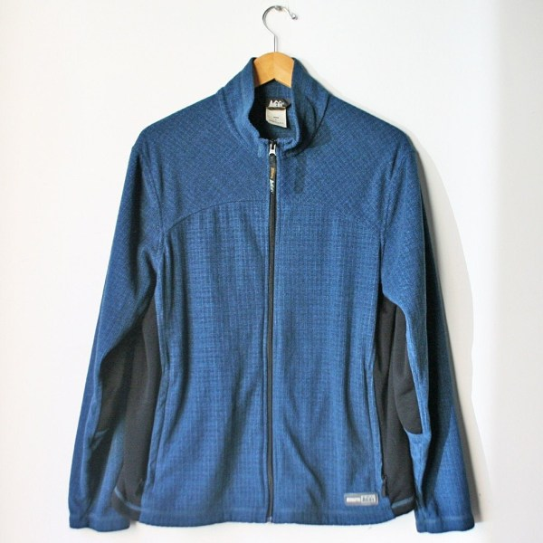 Vintage Men' Rei Fleece Jacket L