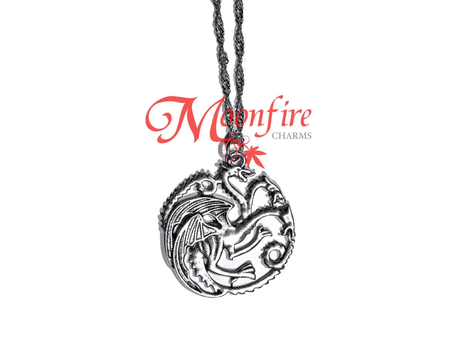GAME OF THRONES House Targaryen Dragon Necklace