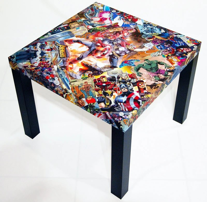 superhero bean bag chair arm of avengers comic collage table free shipping usa