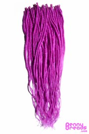 fuschia magenta synthetic dreadlock