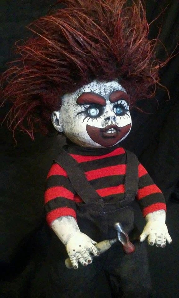 Items similar to Whacko the Killer Clown Altered Baby