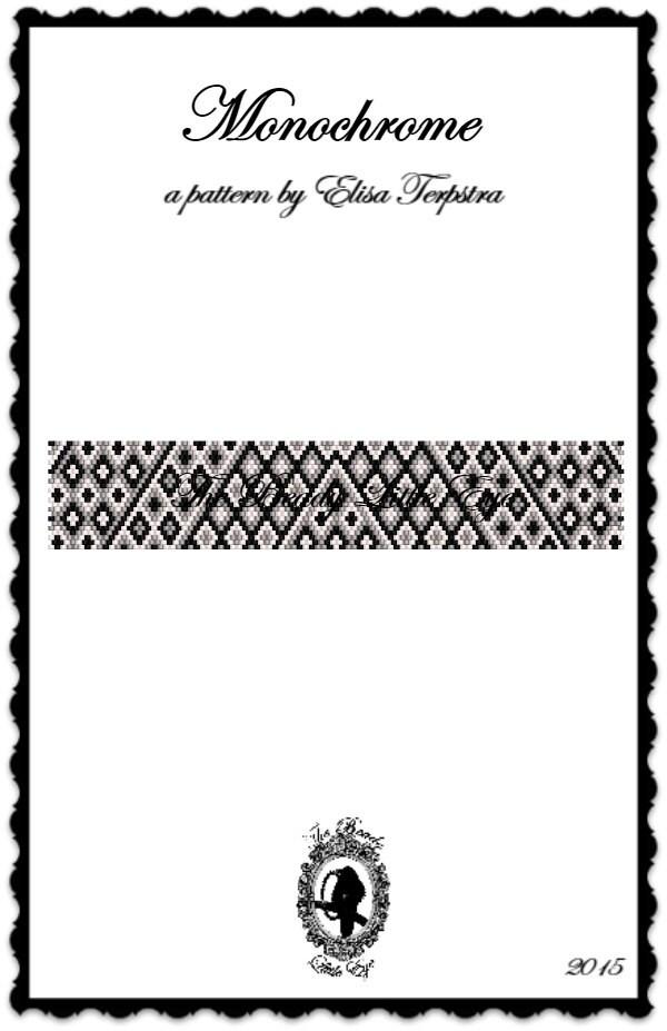 Peyote Pattern Bracelet Peyote Stitch by TheBeadyLittleEye