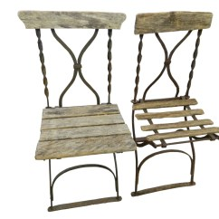 Antique French Bistro Table And Chairs Massage Chair Brookstone Stadium Pair