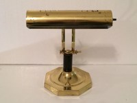 Vintage Brass and Marble Lamp Solid Brass Bankers Lamp