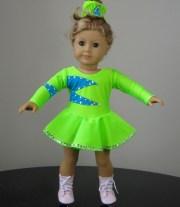 american girl doll skating clothes