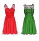 Prom Dress Pattern Evening Gown Create Sz 8 16