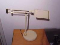 Vintage Italian Desk Lamp Halogen Mid-Century Modern cream ...