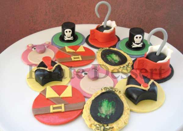 Disney Villains Male Set Edible Cupcake Toppers Iconic