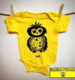 kids owl baby boy clothes baby clothes owl original artwork 7 colors  [ 1280 x 1280 Pixel ]