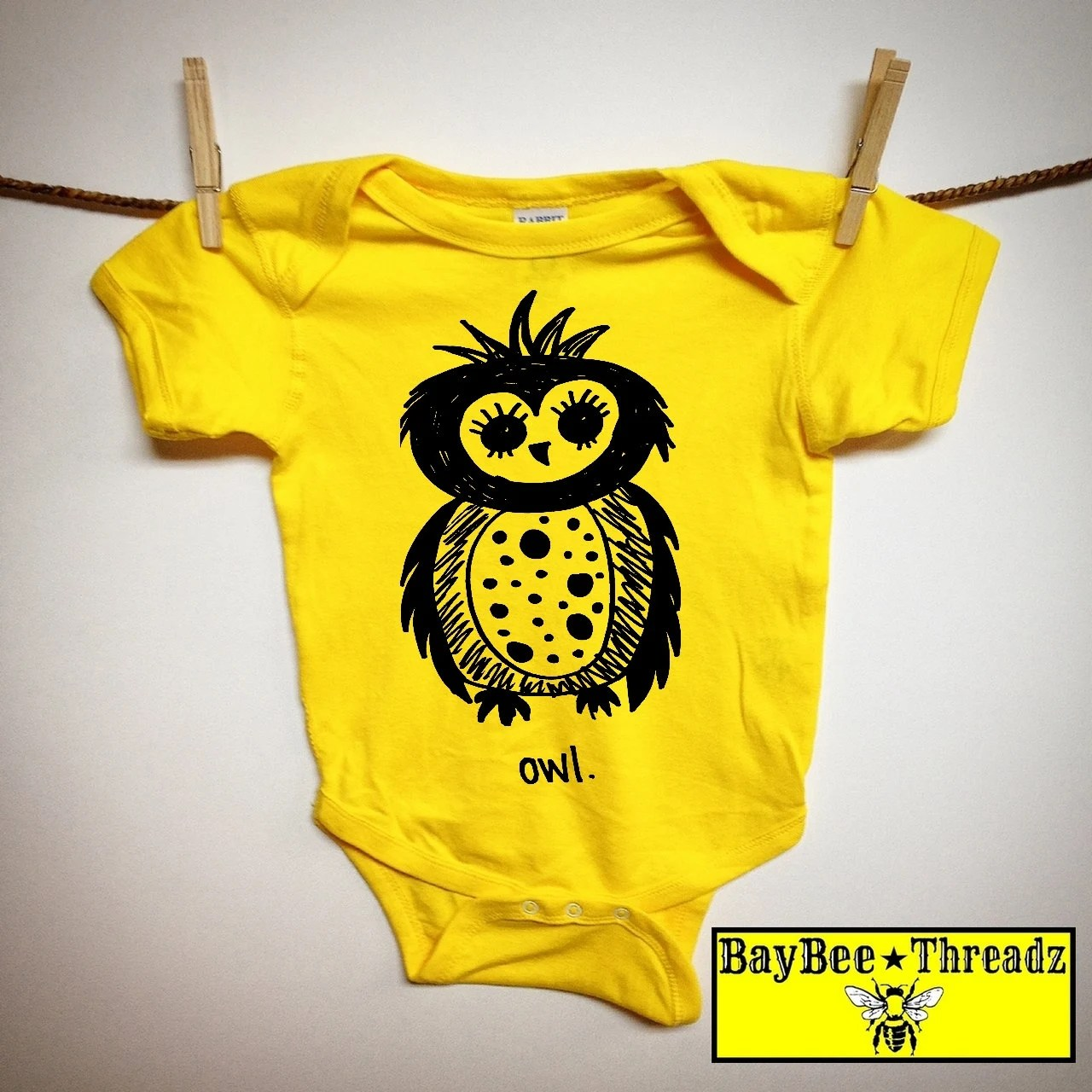 hight resolution of  kids owl baby boy clothes baby clothes owl original artwork 7 colors