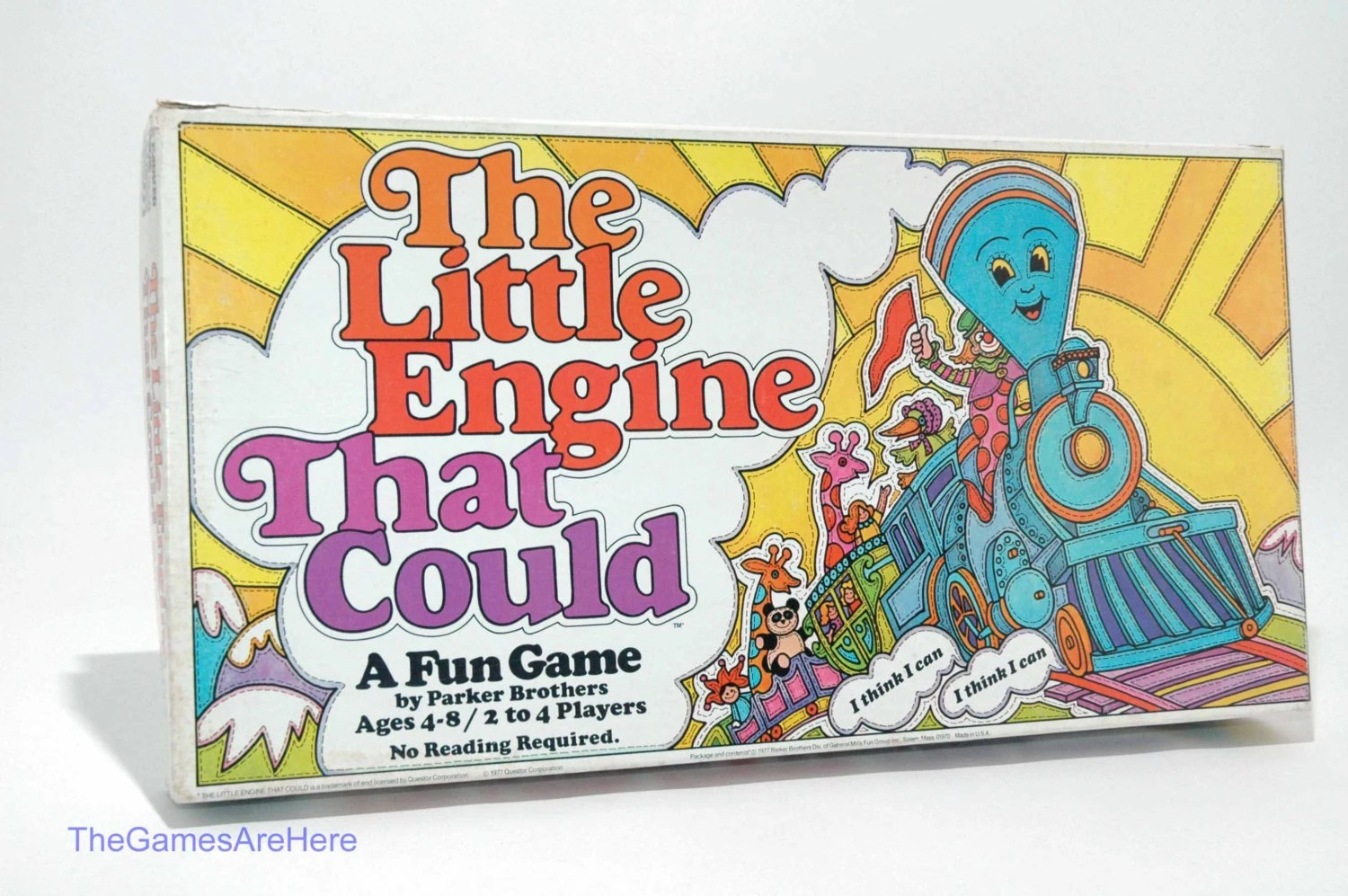 The Little Engine That Could Board Game From Parker Brothers