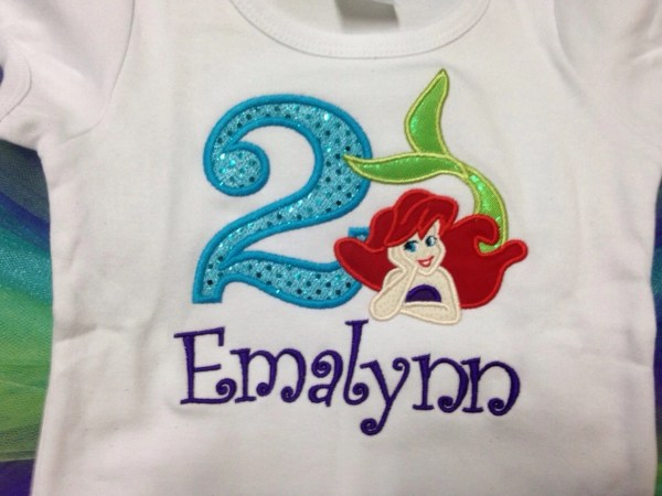 20 Little Mermaid 1st Birthday Shirts Pictures And Ideas On Meta